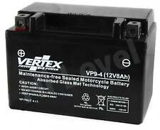 Vertex Battery For Yamaha VP 300 Versity 2002- 2003