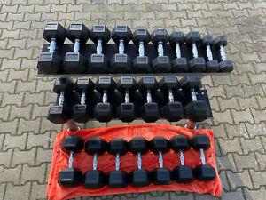 Hex Hantel Satz 2,5 kg bis 30 kg,Ablageständer 2 lagig 1,2m,Säulenständer