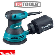 "Makita BO5030 125mm 5"" Random Orbital Sander 240V With Dust Bag"