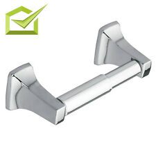 Toilet Paper Post Double Holder Bathroom Tissue Roll Wall Mounted Home Plumbing