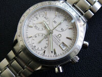 MEN'S  OMEGA  SPEEDMASTER  3211 30  AUTOMATIC  CHRONOMETER DAY  DATE  VERY CLEAN