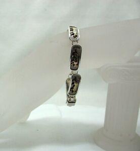 Vintage Silver Panther Bracelet
