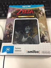 The Legend Of Zelda Twilight Princess HD Amiibo Bundle Wii U Brand New