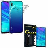 Coque Silicone Gel UltraSlim Verre Trempé Huawei P Smart (2019) 6.21""