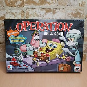 SpongeBob SquarePants Edition Operation Milton Bradley Board Game