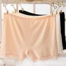 1 Pc Women Summer Sexy lace Soft Seamless Safety Shorts Pants Under Skirt Breath