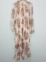 SHEIKE Womens Size 12 Floral Print Maxi Dress