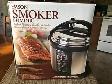 Emson Electric 5qt Indoor Pressure Cooker / Smoker Only Used 3 Times