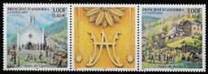 Andorra Frans postfris 2000 MNH 552-553 - Feest van Canolic en Meritxell