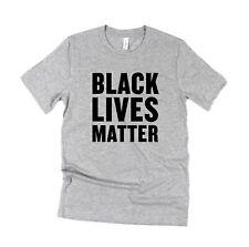 Black Lives Matter Unisex T shirt BELLA CANVAS Premium tee