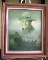 John Wayne Stagecoach Oil by Perer Shinn