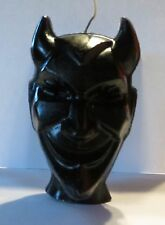 "Devil Demon Satan  VooDoo Love Scented candle 5 1/2"" tall   by joanndles"