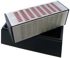 AM-TECH 4 GRIT DIAMOND SHARPENING BLOCK STONE KNIFE CHISEL PLANE FINE MED E2557