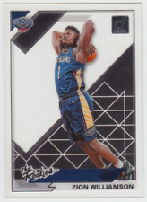 2019-20 Panini Donruss Clearly Pelicans Zion Williamson The Rookie Acetate RC #1