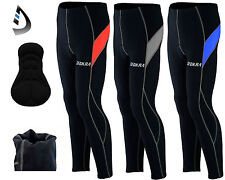 Men's Cycling Tights Winter Thermal Cold Wear Padded Legging Cycling Trouser