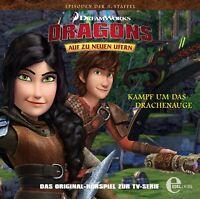 DRAGONS-AUF ZU NEWEN UFERN - FOLGE 32: KAMPF UM DAS DRACHENAUGE   CD NEW