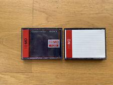 2x Minidisc 1go Sony Hi-MD