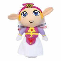 Lovely Princess Zelda Plush Legend Of Zelda Ocarina Of Time Rare Handmade 7In