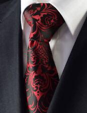 Cravatte e papillon da uomo rossi in misto seta