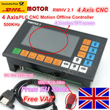 【EU SHIP】 4 Axis Linkage Motion Offline Control System Controller G Code for CNC