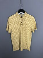 TED BAKER Polo Shirt - Size 4 Large - Spotty - Great Condition - Men's