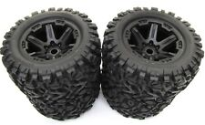 1/10 BRUSHLESS E-REVO 2.0 VXL TIRES (17mm WHEELS tyres Talon EXT Traxxas 86086-4