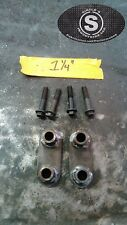 """1984-2001 Jeep Cherokee XJ Hood Spacer Kit With Hardware. 1.25"""" Spacers"""