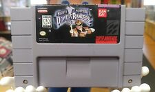 Mighty Morphin Power Rangers Movie Game SNES - Cart Only - Nice Shape - Tested