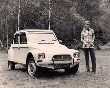 Citroen Dyane 6 1973-74 Original UK Market Press Photograph