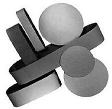 "BUTW 6"" x 2 1/2"" x 220 grit diamond sanding grinding belt for 6"" expandable drum"