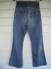GAP Original Flare Maternity Jeans Women's Size 2 Flap Pocket
