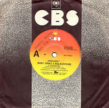 """CHICAGO - BABY, WHAT A BIG SURPRISE - PROMO 7"""" 45 VINYL RECORD 1977"""