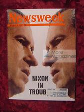 NEWSWEEK magazine October 13 1969 Oct 69 10/13/69 RICHARD NIXON IN TROUBLE CHINA