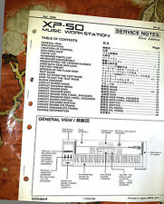 ROLAND XP-50 XP50 REPAIR / SERVICE MANUAL only