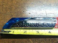 """NEW OEM NISSAN ALTIMA REAR TRUNK EMBLEM """"XTRONIC CVT"""" CHROME BLUE"""