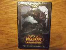 World of Warcraft- Cataclysm- Behind-the-Scenes DVD  Exc. Cond.