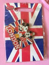 Disney Pin Badge Minnie Mickey Genuine London 2012 Souvenior New