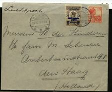 Netherlands  Indies  airmail  cover  to  Holland        MS0428