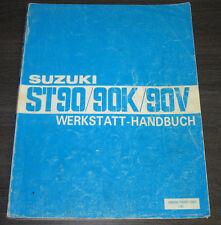 Werkstatthandbuch Suzuki Carry ST 90 / 90K / 90V Reparaturanleitung Stand 1983!