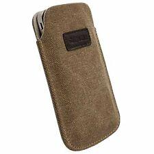 Krusell Tasche Uppsala für HTC EVO 3D braun XXL Etui Hülle Case Cover Bag 95349