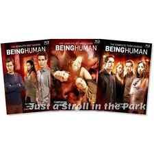 Being Human: US TV Series Complete Seasons 1 2 3 Box / BluRay Set(s) NEW!