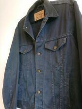 Men's Levi's Navy Blue Denim Jacket Size Large L 70503 Vintage Trucker Shacket