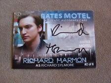 2015 Bates Motel Season 1 RICHARD HARMON as SYLMORE Autograph Auto 2 of 6 RARE