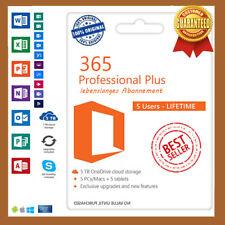 Office 365 2019 Professional Plus für 5PC✔️5TB Cloud WIN&MAC✔️ Lebenszeitkonto✔️