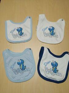 bavette/bavaglini per neonato bambino in cotone -