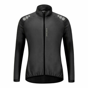 Cycling Clothing Sports Reflective Safty Wind Coat Jersey Windproof Jacket Tops