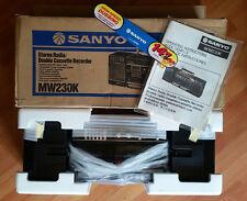 boombox ghetto blaster radio sanyo / 📢⚠ 100% neuf . new  📢⚠ / 80''s . vintage