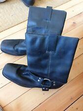 Men's Black Leather Boots size 11