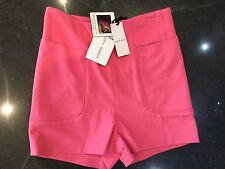 NWT Brigitte Bardot New & Genuine Ladies Size Small Pink High Waisted Shorts