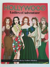 Hollywood Ladies Of Adventure Paper Dolls by Spanish Artist Guillem Medina